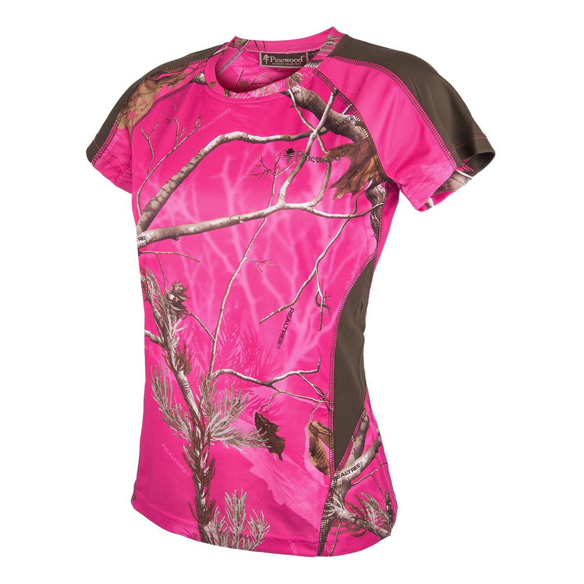 Pinewood T-shirt Ramsey Rosa UTFÖRSÄLJNING