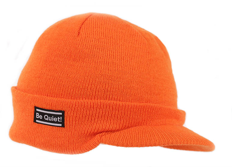 Orange Mössa med Skärm Jägarmössan