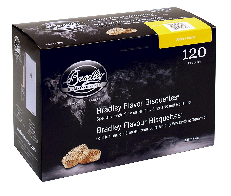 Bradley Smoker Albriketter 120-pack
