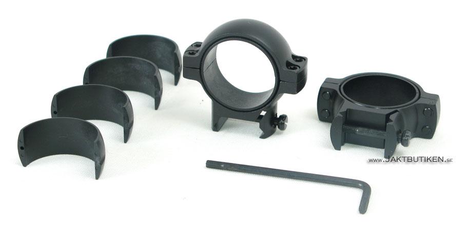 Burris 30mm Signature Rings - Kikarfästen Weaverprofil