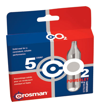 Crosman CO2 Patroner 5-Pack
