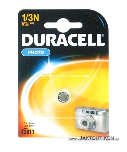 Duracell 3 V Lithium - 1/3N Batteri