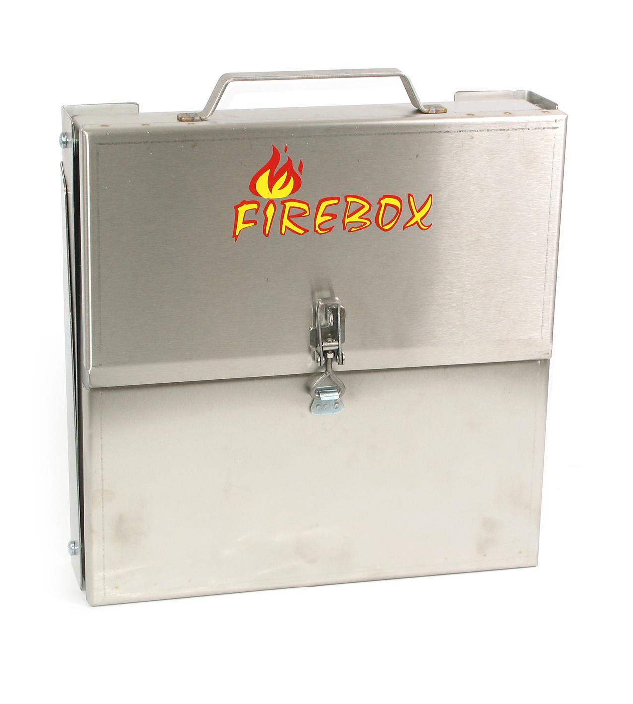 Firebox 4P Hopfällbar Eldstad Rostfri