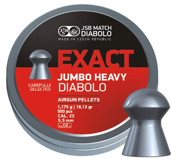 JSB Exact Jumbo Heavy 5,5mm UTFÖRSÄLJNING