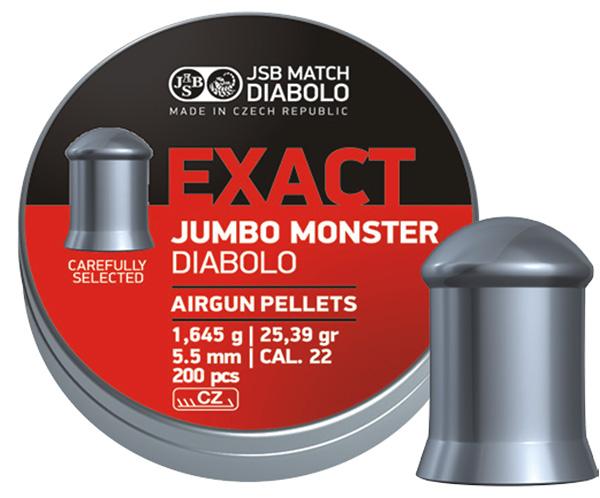 JSB Exact Jumbo Monster 5,5mm UTFÖRSÄLJNING
