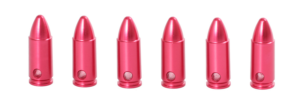 Klickpatron 6 Pack Metall 9 MM