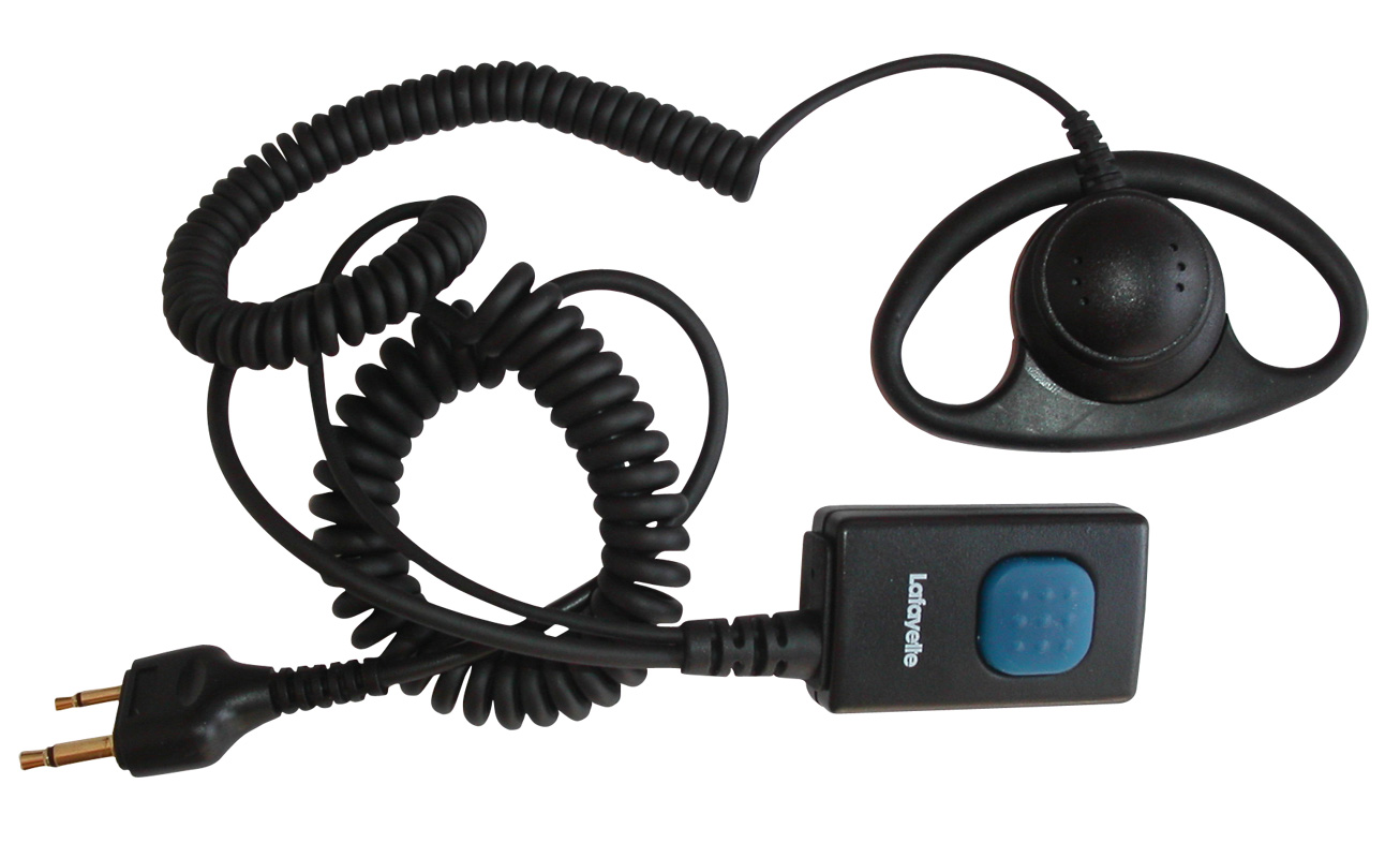 Lafayette Micro 3 Headset Yttre Mussla Rak Kontakt UTFÖRSÄLJNING