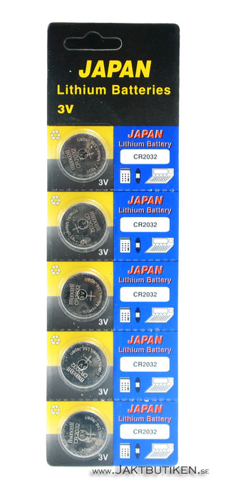 Maxell 3 Volt Lithium - CR2032 Batteri