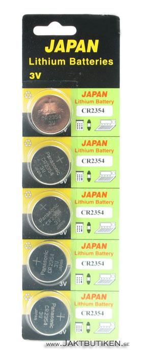 Panasinic 3 Volt Lithium - CR2354 Batteri