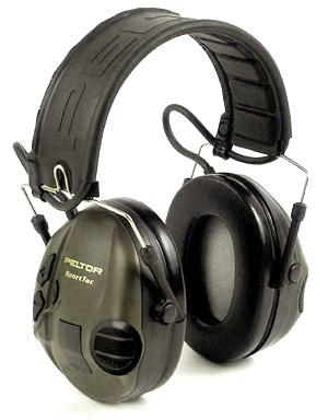 Peltor SportTac - Elektroniska hörselskydd