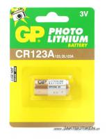 GP 3 V Lithium Cell - CR123A Batteri