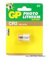 GP 3 V Lithium Cell - CR2 Batteri
