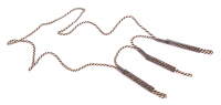 Halsband Lockpipa Tre hållare