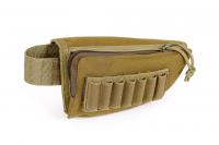 Väska för Gevärsstock med Patronhållare Grön