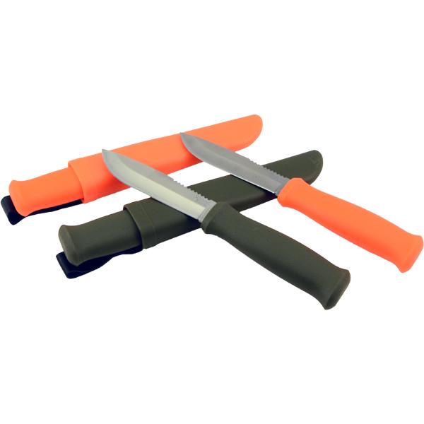 Allemanskniven Friluftskniv Orange