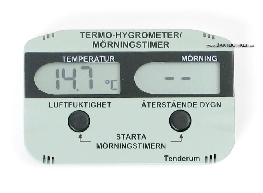Tenderum - Mörningstimer Väggmodell