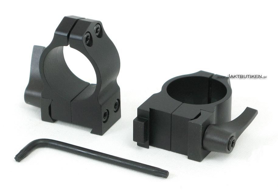 Warne Maxima 1 Kikarfästen Quick Detach Brno 16mm
